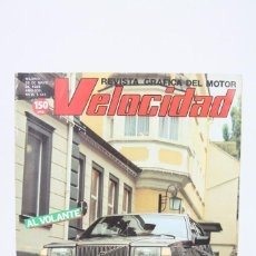Coches: REVISTA DE COCHES VELOCIDAD - VOLVO 760 TURBO INTERCOOLER Nº 1.131 - MAYO 1983. Lote 101840871