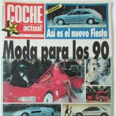 Coches: COCHE ACTUAL 25 1988 FORD FIESTA. VOLKSWAGEN PASSAT GL, MASERATI BITURBO, RENAULT 5, ROVER 800. Lote 102090823