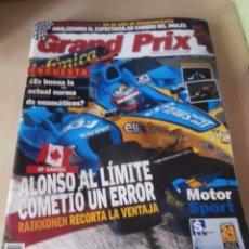 Coches: REVISTA GRAND PRIX INTERNATIONAL FORMULA 1 Nº 32. JUNIO 2005. GP CANADA. ALONSO COMETIO ERROR. . Lote 102167643