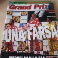 Carros: REVISTA GRAND PRIX INTERNATIONAL FORMULA 1 Nº 33. JUNIO 2005. GP ESTADOS UNIDOS UNA FARSA.. Lote 220624151