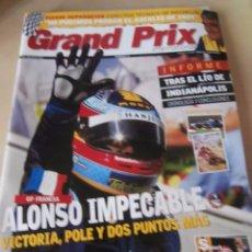 Coches: REVISTA GRAND PRIX INTERNATIONAL FORMULA 1 Nº 34. JULIO 2005. GP FRANCIA. ALONSO IMPECABLE . Lote 102169071