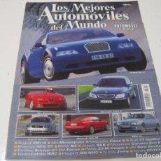 Coches: LOS MEJORES AUTOMOVILES DEL MUNDO 1999: MITSUBISHI CARISMA GT EVO V; BENTLEY ARNAGE; XKR; ETC.... Lote 122769018