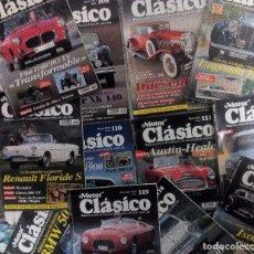 Coches: MOTOR CLÁSICO 1997 LOTE DE LAS 12 REVISTAS DEL AÑO. MUY BUEN ESTADO VER FOTOGRAFÍAS Y DESCRIPCIÓN. Lote 102847719