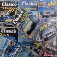 Coches: MOTOR CLÁSICO 1999 LOTE DE LAS 12 REVISTAS DEL AÑO. MUY BUEN ESTADO VER FOTOGRAFÍAS Y DESCRIPCIÓN. Lote 102848039