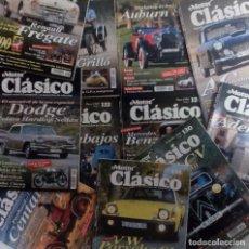 Coches: MOTOR CLÁSICO 1998 LOTE DE 11 REVISTAS DEL AÑO. MUY BUEN ESTADO VER FOTOGRAFÍAS Y DESCRIPCIÓN. Lote 102848263