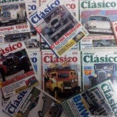 Coches: MOTOR CLÁSICO 1996 LOTE DE LAS 12 REVISTAS DEL AÑO. MUY BUEN ESTADO VER FOTOGRAFÍAS Y DESCRIPCIÓN. Lote 102848403