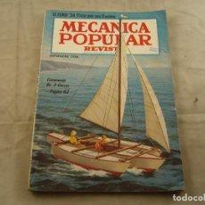 Coches: REVISTA MECANICA POPULAR SEPTIEMBRE 1956. Lote 103282923