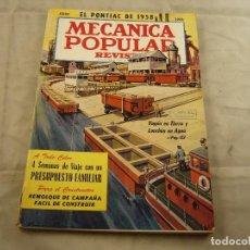 Coches: MECANICA POPULAR JULIO 1958. Lote 103283127