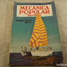 Coches: REVISTA POPULAR MECANICA ENERO 1952. Lote 103284735