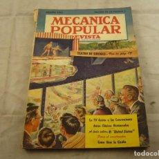 Coches: REVISTA POPULAR MECANICA AGOSTO 1952. Lote 103285903