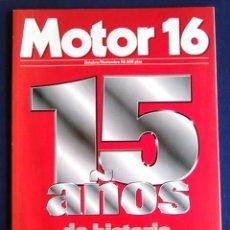 Coches: REVISTA MOTOR 16 1998. 15 AÑOS DE HISTORIA DEL AUTOMÓVIL. 1983 1998 LA GRAN REVOLUCIÓN. ESPECIAL.. Lote 103333067