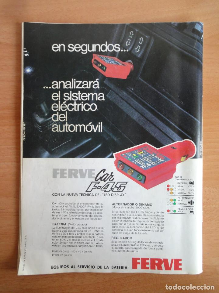 Coches: Motor 16. Num. 80 (Mayo 1985) con poster gama SEAT 85 - Foto 2 - 103499767