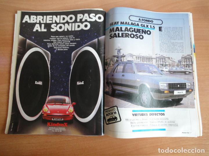 Coches: Motor 16. Num. 80 (Mayo 1985) con poster gama SEAT 85 - Foto 3 - 103499767