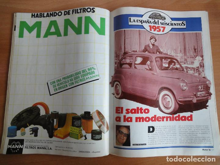 Coches: Motor 16. Num. 80 (Mayo 1985) con poster gama SEAT 85 - Foto 4 - 103499767