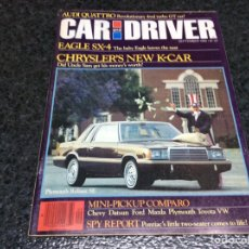 Coches: CAR AND DRIVER SEPTEMBER 1980 VW SCIROCCO, AUDI QUATTRO, SCARAB TURBO. Lote 103726711