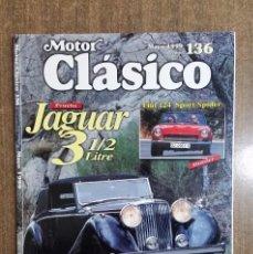 Coches: REVISTA MOTOR CLÁSICO Nº 136. MAYO 1999. CCAVENDE.. Lote 105054255