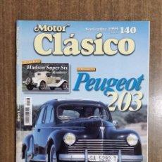 Coches: REVISTA MOTOR CLÁSICO Nº 140. SEPTIEMBRE 1999. CCAVENDE.. Lote 105054431