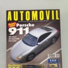 Coches: AUTOMOVIL 240,PORSCHE 911 CARRERA,CITROËN XANTIA V6,PEUGEOT 406 V6,RENAULT LAGUNA V6,AUDI A6,BMW 523. Lote 105755367