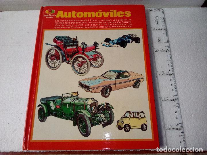 LIBRO AUTOMOVILES-SANTILLANA-1º EDICION-1972-50 PAG (Coches y Motocicletas Antiguas y Clásicas - Revistas de Coches)
