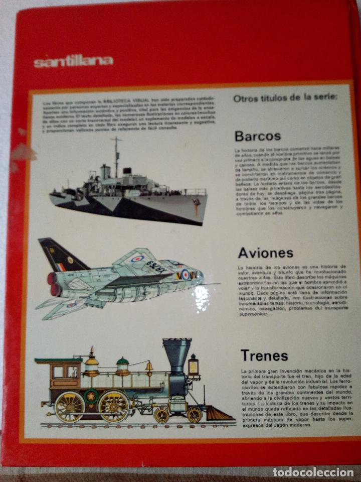 Coches: LIBRO AUTOMOVILES-SANTILLANA-1º EDICION-1972-50 PAG - Foto 2 - 107195727