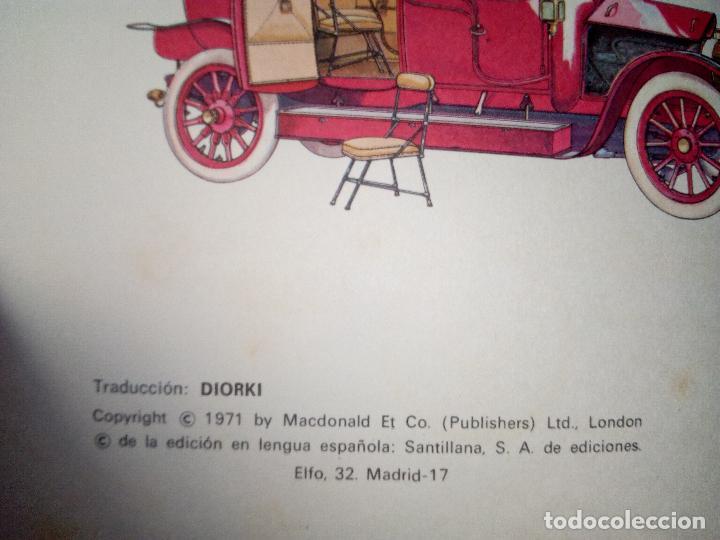 Coches: LIBRO AUTOMOVILES-SANTILLANA-1º EDICION-1972-50 PAG - Foto 3 - 107195727
