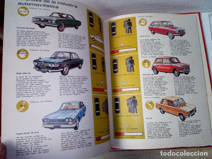Coches: LIBRO AUTOMOVILES-SANTILLANA-1º EDICION-1972-50 PAG - Foto 5 - 107195727