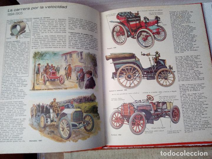 Coches: LIBRO AUTOMOVILES-SANTILLANA-1º EDICION-1972-50 PAG - Foto 6 - 107195727