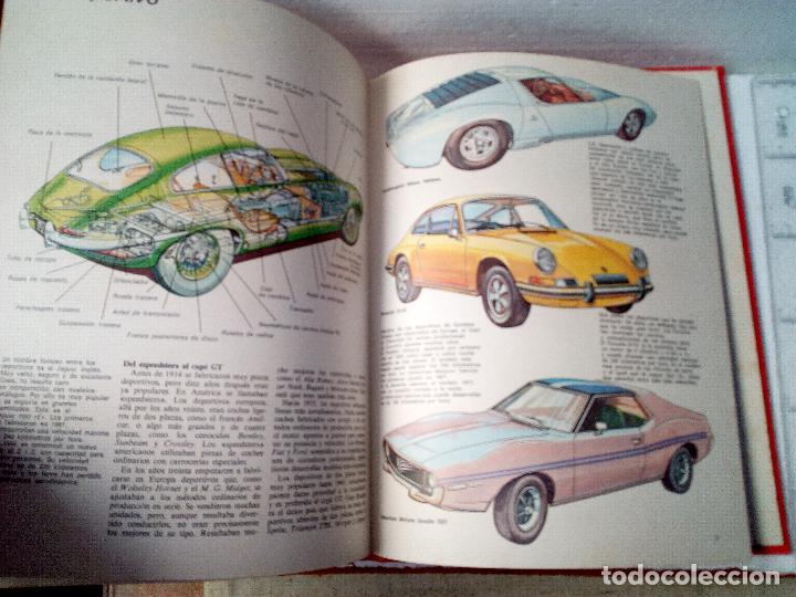 Coches: LIBRO AUTOMOVILES-SANTILLANA-1º EDICION-1972-50 PAG - Foto 7 - 107195727