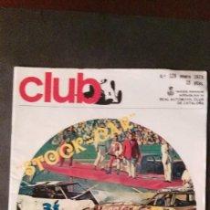Coches: REVISTA CLUB- REAL AUTOMOVIL CLUB DE CATALUÑA. Lote 107590575