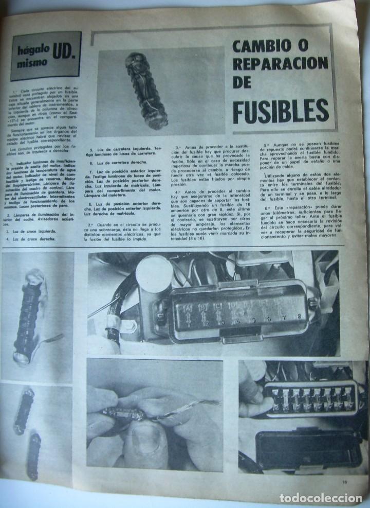 Coches: REVISTA CLUB, Nº 129, FEBRERO 1974. RACC, REAL AUTOMOVIL CLUB DE CATALUNYA. MATRICULAS - Foto 5 - 107733511