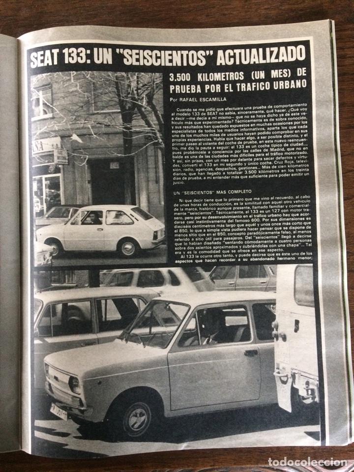 Coches: Revista Seat n. 97 de 1975 automóvil Seat 133 - Foto 3 - 107882927
