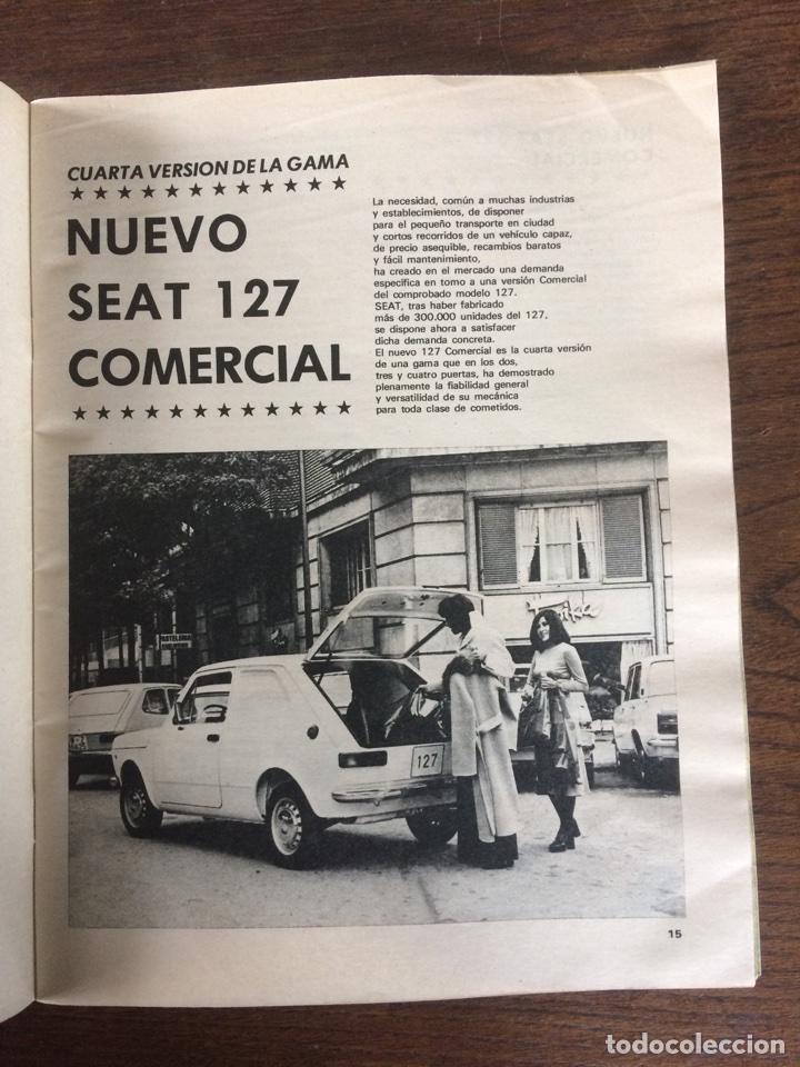Coches: Revista Seat n. 93 de 1974 automóvil Seat 127 comercial 133 - Foto 2 - 107883104