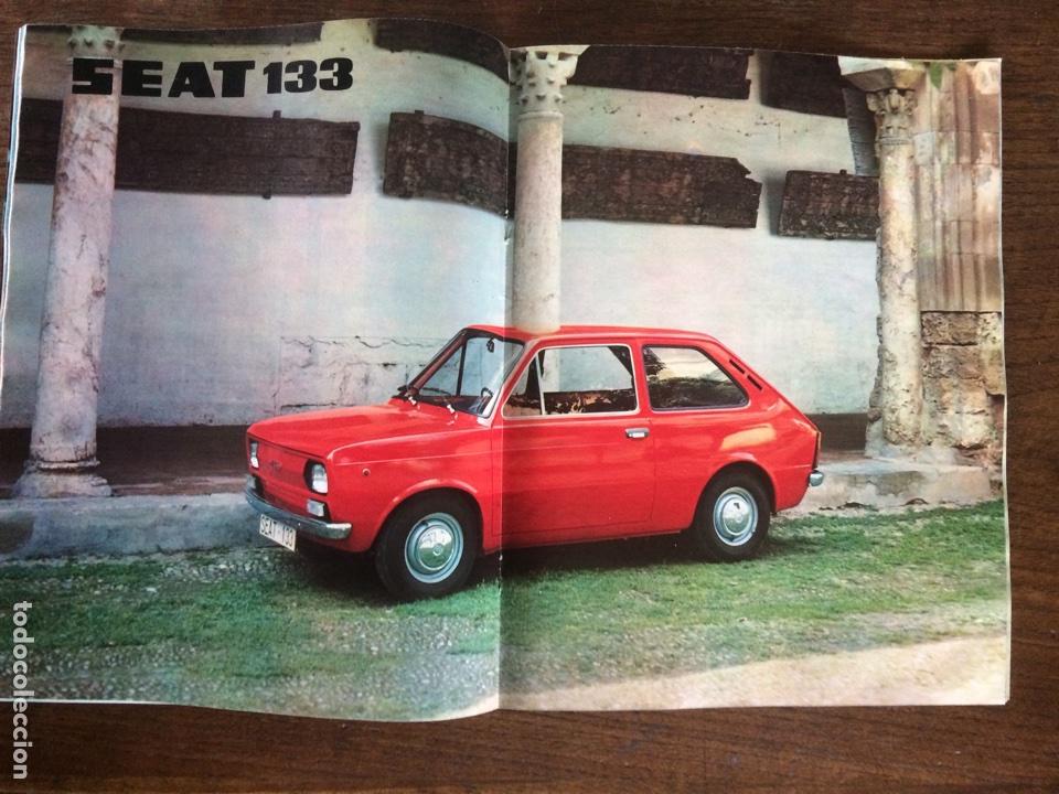 Coches: Revista Seat n. 93 de 1974 automóvil Seat 127 comercial 133 - Foto 3 - 107883104