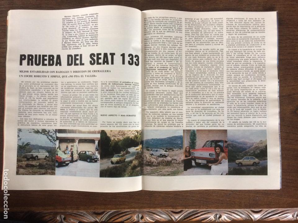 Coches: Revista Seat n. 115 de 1976 automóvil Seat 133 - Foto 2 - 107883290