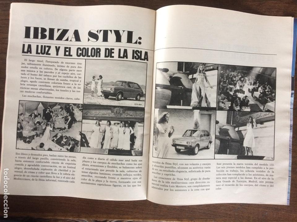 Coches: Revista Seat n. 115 de 1976 automóvil Seat 133 - Foto 3 - 107883290