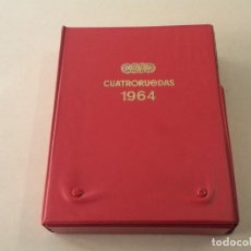 Coches: CUATRORUEDAS AÑOS 1963-64 - Nº 1 AL 12 - COMPLETO CON ESTUCHE ORIGINAL. Lote 108065503