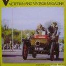 Coches: VETERAN AND VINTAGE MAGAZINE/ VOLUME 18/ NO. 3/ 1973/ PIONEER PUBLICATIONS/ NOV.. Lote 108071439