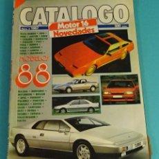 Coches: MOTOR 16 CATÁLOGO Nº 8 1987. Lote 108126347
