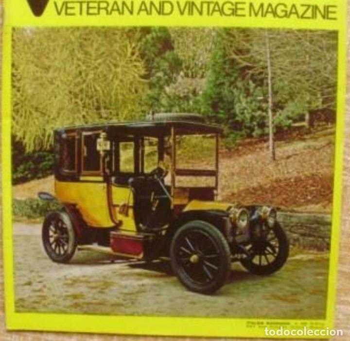 VETERAN AND VINTAGE MAGAZINE/ VOLUME 17/ NO. 5/ 1973/ PIONEER PUBLICATIONS/ JAN. (Coches y Motocicletas Antiguas y Clásicas - Revistas de Coches)