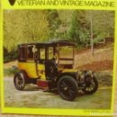 Coches: VETERAN AND VINTAGE MAGAZINE/ VOLUME 17/ NO. 5/ 1973/ PIONEER PUBLICATIONS/ JAN.. Lote 108126911