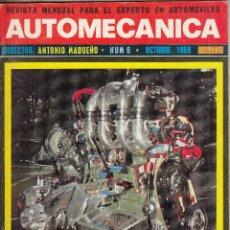Coches: REVISTA AUTOMECANICA Nº 6 AÑO 1969. TRUCAJE RENAULT 1340. . Lote 108461599