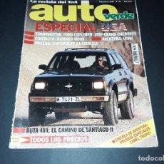Coches: REVISTA AUTO VERDE 1993. Lote 109312355