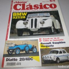 Carros: MOTOR CLÁSICO, MAYO 1.993 Nº 64. Lote 109384083