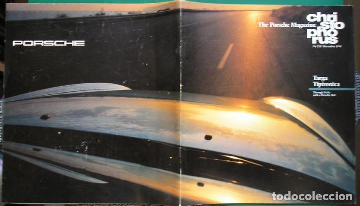 Coches: Sicilia en Porsche 968. Christophorus Porsche Magazine 233 – Dec 1991- en inglés - Foto 2 - 109992803