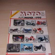 Coches: REVISTA MOTO INTERNACIONAL - AUTOMANIA 1990. Lote 110132118