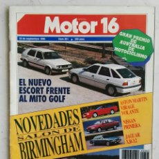 Coches: MOTOR 16 SEPTIEMBRE 1990 N°361. Lote 110176626