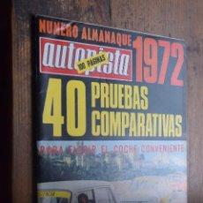 Revista Autopista nº 673, 1 enero 1972, Almanaque de 1972