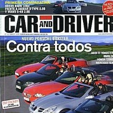 Coches: CAR AND DRIVER Nº 114 LAND ROVER DISCOVERY 3 BMW SERIE 3. Lote 111500507