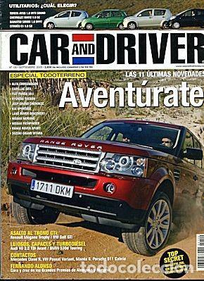CAR AND DRIVER Nº 120 ESPECIAL 4X4 (Coches y Motocicletas Antiguas y Clásicas - Revistas de Coches)