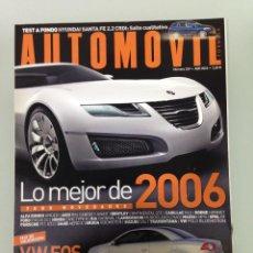 Coches: AUTOMOVIL 339,POSTER,VW EOS,MAZDA 6,SUBARU LEGACY,HYUNDAI SANTA FE,SUZUKI GRAND VITARA,. Lote 113107391